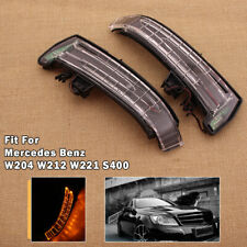 Pair Mirror Turn Signal Light LED For Mercedes Benz W204 W212 W221 S400