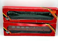 Job Lot of Vintage Hornby Triang 00 Gauge Carriage - 2 in total - Made in the UK