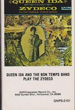 """QUEEN IDA & THE BON TEMPS BAND """"PLAY THE ZYDECO"""" CASSETTE 1976"""