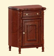 Bespaq 1:12 Young Ladies comodino noce - walnut nightstand -50%