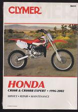 1996-2002 HONDA CR80R & CR80RB MOTORCYCLE SERVICE & REPAIR MANUAL / CLYMER M435