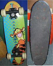 2002 Disney Winnie the Pooh Tigger Character 4 wheel Sport Fun Skateboard deck