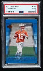 2000 Upper Deck Tom Brady #254 PSA 9 MINT Rookie RC