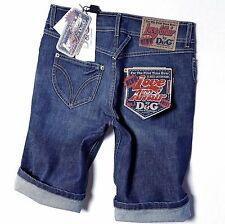 Dolce&Gabbana D&G Denim Shorts, Kurze Bermuda Jeans Hose, Gr.W 25,26,27,28,29,30