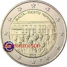 2 Euro Commémorative Malte 2012 BU Majorité avec poinçon de la KNM