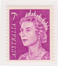 (K29-7) 1966 AU 7c violet QEII definitive MUH