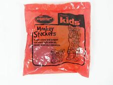 "Arby""s Adventure Meal Toy Monkey Stackers 2004 SEALED"