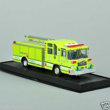 Yellow 1997 Pierce Quantum Pumper USA Alloy Diecast Fire Truck Model 1/64 Scale