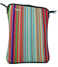 "Built NY Neoprene ablet Laptop Mac Sleeve Striped 14"" x 10"""