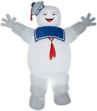 Gemmy 9 Ft Stay Puft Marshmallow Man Inflatable Halloween Ghostbusters