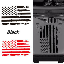20'' x 35'' US American Flag Style Vinyl Car Decal Sticker For Jeep Hood Window