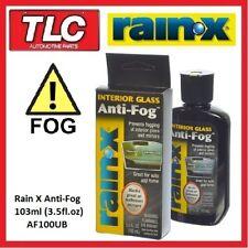 Rain X Rain-X RainX Interior Glass Anti Fog Anti-Fog 103ml
