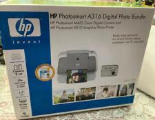 HP Photosmart A316 Digital Photo Bundle CAMERA & PRINTER BRAND NEW IN BOX 🎄🌹🌹