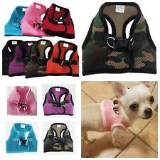 XXXS XXS XS Puppy Dog Harness Clip Coat Chihuahua Teacup Dog Kitten Pet