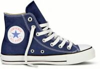 Converse Hi Top All Star Chuck Taylor Navy Blue Mens Womens Shoes Size 4.5-13