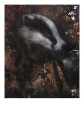 Officially licensed Harry Bunce greetings cards / Tea for Two / Pack of 2