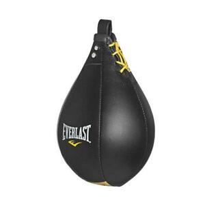 Everlast Leather Speed Bag 9 Inches x 6 Inches for Speed Bag Training