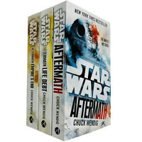 Star Wars Aftermath Trilogy By Chuck Wendig 3 Books Collection Set Brand NEW