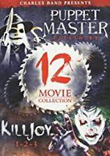 Puppet Master 1-9 Killjoy 1-3 12-Film Collection 3 Set DVD NEW factory sealed