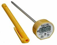 Taylor 9842 Pro Waterproof Instant Read Thermometer - 1 Second - Fahrenheit,