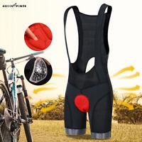 Mens Cycling Bib Shorts Breathable Gel Padded Bicycle Tight MTB Road Cycle Short
