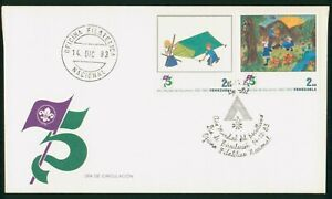 Mayfairstamps Venezuela 1983 Scouts Dual Frank First Day Cover wwo1489