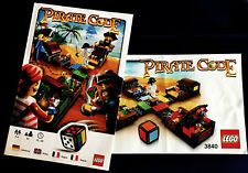 Lego Instructions - Pirate Code Game Build Ins and Rules - 3840 - NOT GAME
