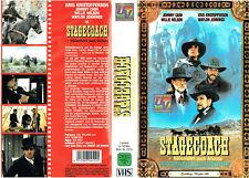 (VHS) Stagecoach - Höllenfahrt nach Arizona - Willie Nelson, Kris Kristofferson