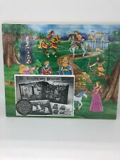 Vintage 1994 Chadwick Miller Wooden Puzzle - Knights and Princess Puzzle New