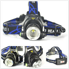 NEW 5000LM XM-L XML T6 LED 18650 Tactical Emergent Headlamp Headlight Light DL