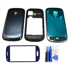 For Samsung Galaxy S3 Mini i8190 Full Housing Frame + Glass Replacement Part New