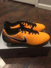 Nike Magista Opus Ii 2 Pro Orange Black Volt 843814-802 Size 10