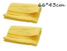 2 x Autowäsche Handtücher  Waschtuch Gämse Tuch Trocknen Reinigungstuch