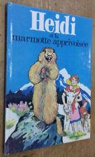 Heidi et la marmotte apprivoisée