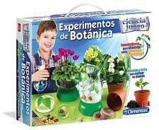 Expériences de Botanique. Science et jeu Avec lumières et son. Clementoni. 55078
