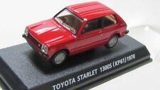 Konami 1/64 Scale Toyota Starlet 1300S (Red)