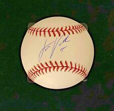 JUSTIN VERLANDER Autograph - signed OMLB baseball! Tigers! Astros! Beckett COA!