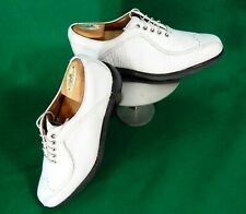 FootJoy ICON men's Asymmetrical CROC golf shoes white 52138 sz 9 $359