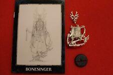Games Workshop Warhammer 40k Eldar Craftworlds Bonesinger Bone Singer WH40K OOP