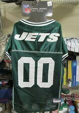 "NEW!! Pets First NFL ""JETS"" Dog Mesh Jersey - GREEN XL"