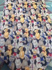Museum Artifacts TEDDY BEAR 100 Year Anniversary Handmade Silk Necktie FAST SHIP