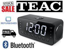TEAC CRX25UBT Bluetooth NFC FM Digital LED Bedside Clock Radio Alarm Clock USB