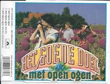 HET GOEDE DOEL - Met open ogen CD SINGLE 3TR HOLLAND 1989 (POLYDOR)