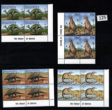 // 4X DOMINICA - MNH - ANIMALS - DINOSAURS