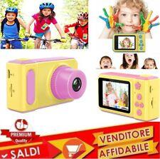 Macchina Fotografica x Bambini Fotocamera Digitale Portatile VideoCamera 1080p R