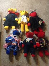 "RARE NORTH AMERICAN BEAR CO 1979 VINTAGE LARGE 21"" PLUSH mr.BEAR LOT Full House"