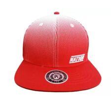 Parish Nation Red/White Crimson Halftone SnapBack.. Adjustable Baseball Hat. NWT