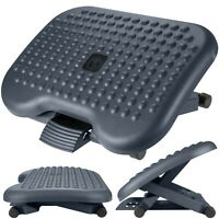 Adjustable Foot Rest Computer Footrest Leg Support for Office Desk 460x360 mm