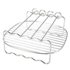 Grill&Pins For Philips Air Fryer 8-inch Double-layer Grill Stainless Steel Parts