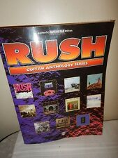 """SongBook """"RUSH GUITAR ANTHOLOGY SERIES""""- Authentic Guitar-Tab Edition"""